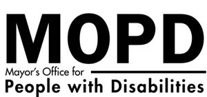Mayor's Office For People with Disabilities LogoMayor's Office For People with Disabilities Logo